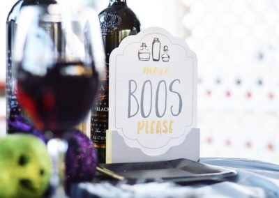 Boos Not Booze